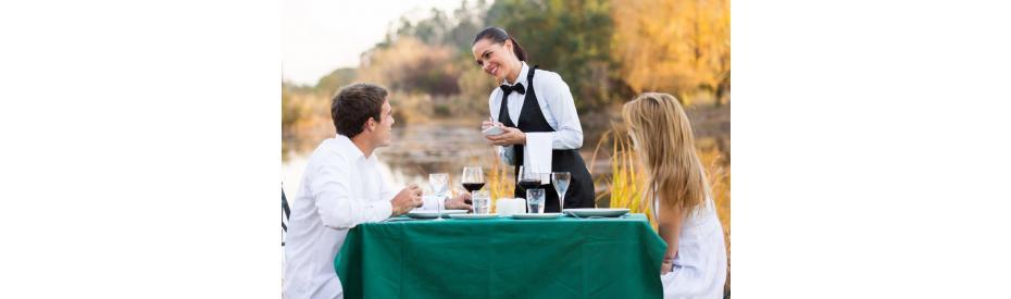 Hoe zorg ik voor een vlotte bediening op mijn terras?