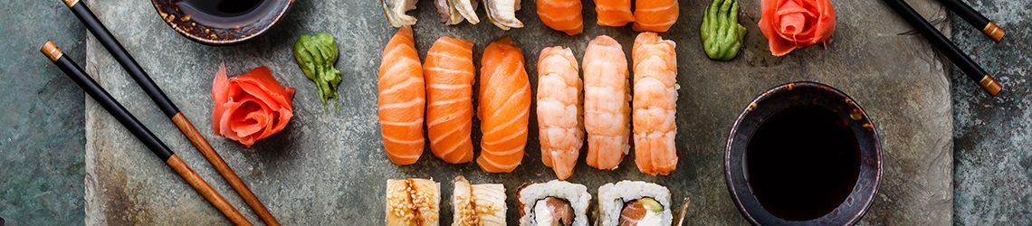 Sushi vitrines