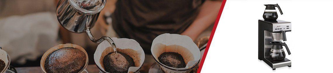 Snelfilter koffiezetapparaten