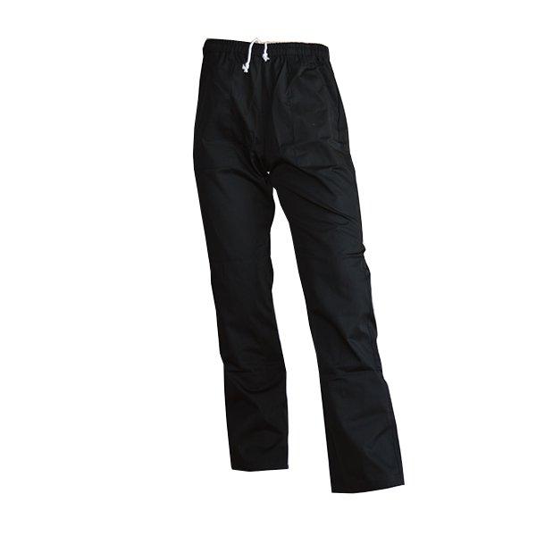 Koksbroek Beristo, zwart, unisex, polykatoen, 3 zakken