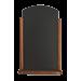 Tafelkrijtbord Securit, Elegant, Donker Bruin, A4