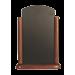 Tafelkrijtbord Securit, Elegant, Donker Bruin, A5