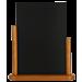 Tafelkrijtbord Securit, Elegant, Teak, A4