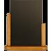 Tafelkrijtbord Securit, Elegant,Teak, A6