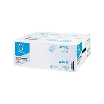 Handdoek Papernet z/z-vouw 2lgs rec. Tissue 24x23cm, 15x266 vel