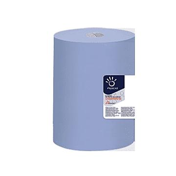 Poetsrol Superior blauw 3lgs rec. 1000vel 22x36cm, 1x1 rollen