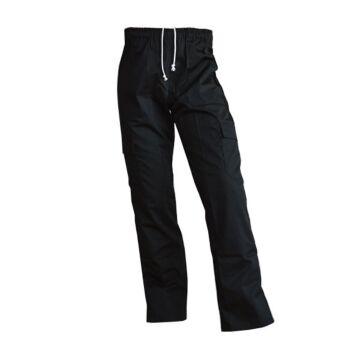 Koksbroek Beristo, zwart, unisex, polykatoen, 5 zakken