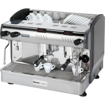 Koffiemachine Bartscher, espresso, 3 boilers, 11.5+2x1.5L, 68(b)x53(h)x58(d), 230V/3300W