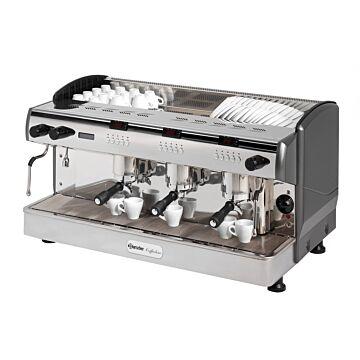 Koffiemachine Bartscher, espresso, 4 boilers, 17.5+3x1.5L, 97(b)x53(h)x58(d), 400V/6200W