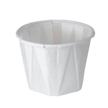 Wegwerp waxed paper tipje 59 ml 250st