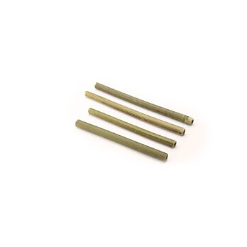 Drinkrietje bamboe Ø 10 mm / 15cm, 12x25 per doos