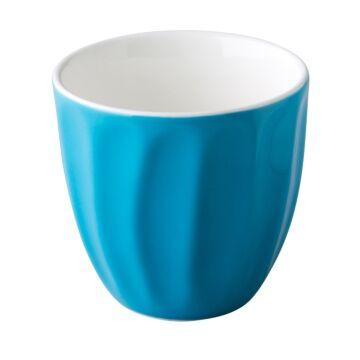 Coffeepoint stapelbare koffiekop blauw 180 ml, doos van 6 stuks