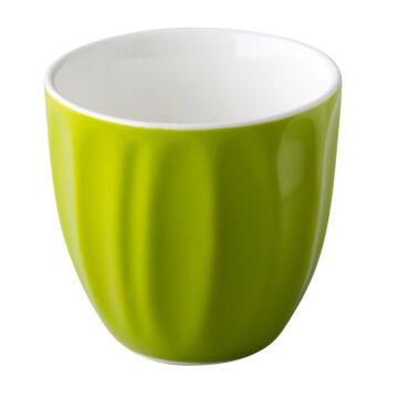 Coffeepoint stapelbare koffiekop groen 180 ml, doos van 6 stuks