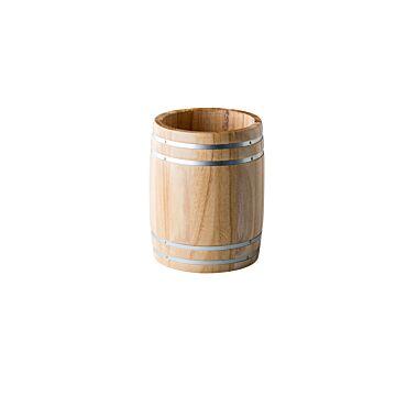 Houten vat Ø 11,5 cm, doos van 1 stuk
