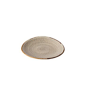 Jersey bord driehoek grijs 17 cm, doos van 6 stuks