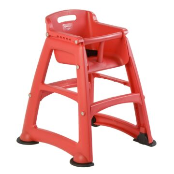 Sturdy Chair Kinderstoel, Rubbermaid, model: VB 007814, rood