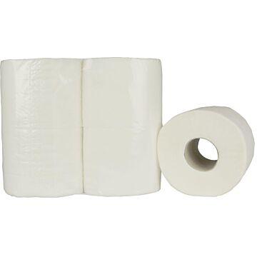Toiletpapier neutraal Cellulose 2lgs 400vel, 10x4 rollen
