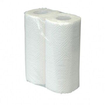 Keukenrol neutraal cellulose 50vel, 16x2 rollen