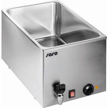 Bain Marie Saro, GN 1/1, 200mm diep, 230V/1000W, met aftapkraan