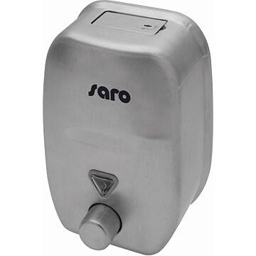 Zeepdispenser Saro, 1,8L, 14(b)x21(h)x12(d)cm, met drukknop