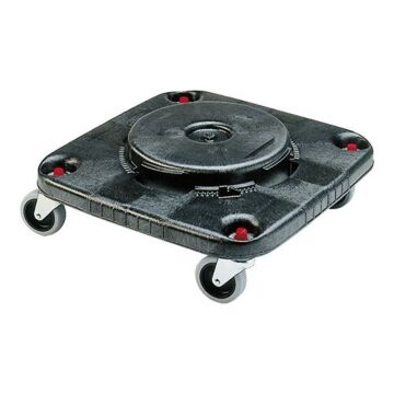 Dolly Tbv Afvalcontainer Vierk, Rubbermaid, voor: RM3526/RM3536