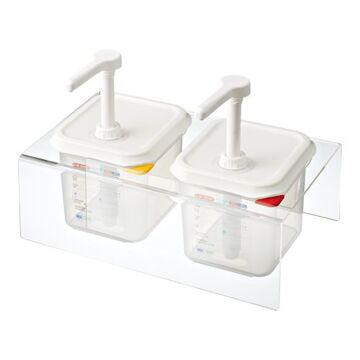 Dispenser Unit 2X1/6Gn Set, Araven