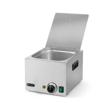 Hendi Worstenwarmer 10 liter, RVS, 28(b)x33(d)x25(h)cm, 240502