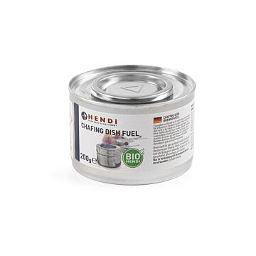 Hendi Chafing dish brandpasta blik NL DE FR EN, Aluminium, Zilver, 194355