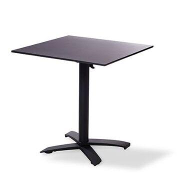 Horeca tafel X Cross low black, vanaf 5 stuks