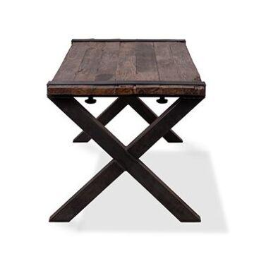 Rustieke horecatafel HVS-Furniture, 180 cm breed X-Poten