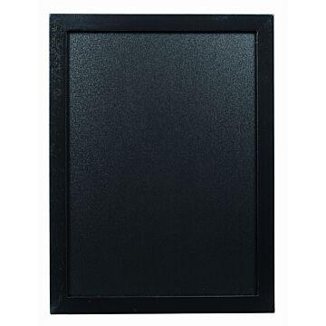 Wandkrijtbord Securit, Woody, Zwart, 30(b)x40(h)cm, incl 1 krijtstift
