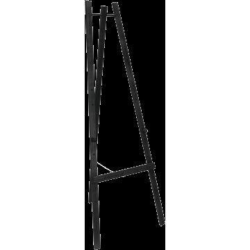 Securit ezel voor krijtbord, Zwart, 165 cm