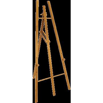Securit ezel voor krijtbord, Teak, 165 cm