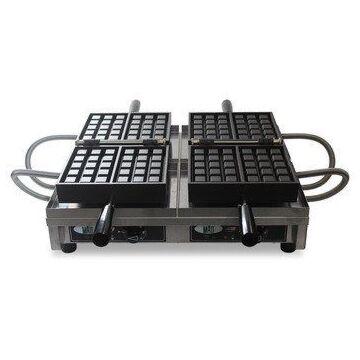 Dubbel wafelijzer, 3x5 Brusselse, Matt/Krampouz, 230V/3600W