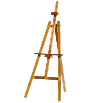 Krijtbord Ezel Chevalet blank 165 cm