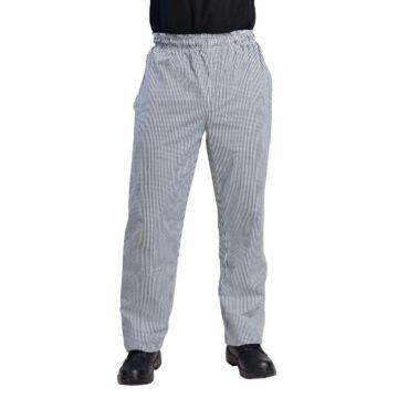 Whites Chefs Clothing Vegas koksbroek zwart/wit geruit