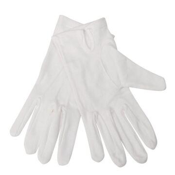 Serveerhandschoen dames wit, maat M en L