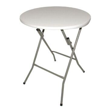 Inklapbare ronde tafel Bolero, weerbestendig, 73,5(h)x60cm