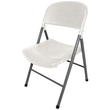 Inklapbare stoelen Bolero, weerbestendig, wit, 2 stuks