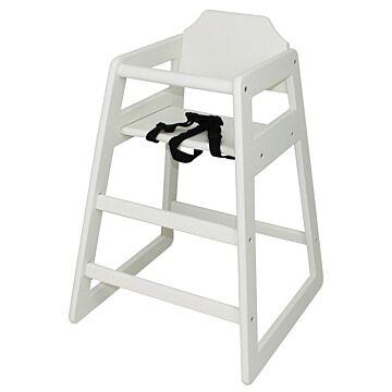 Kinderstoel Bolero, hoog, antiek wit, Voldoet aan NEN-EN 14988: 2006 deel 1 en 2