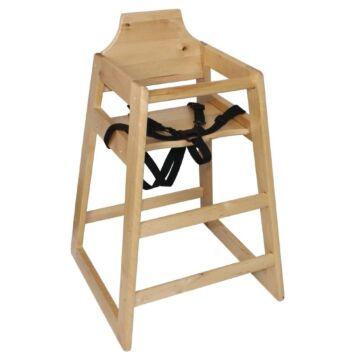 Kinderstoel Bolero, Beuken, Voldoet aan BS EN 14988: 2006 deel 1 en 2