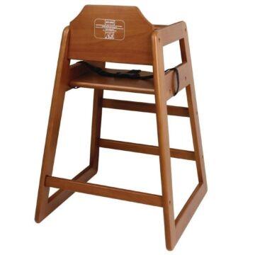 Kinderstoel Bolero, donkerbruin, Voldoet aan BS EN 14988: 2006 deel 1 en 2