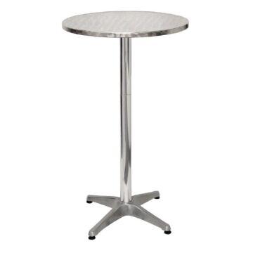 Statafel Bolero, weerbestendig, rond, aluminium,105(h)xØ60cm