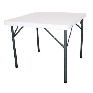 Inklapbare tafel Bolero, weerbestendig, vierkant, 74(h)x86(b)x86(d)cm