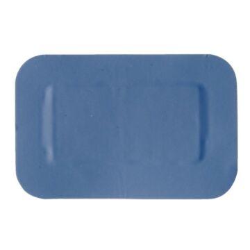 Pleisters HVS-select, 7,5x5cm, blauw, 50 stuks