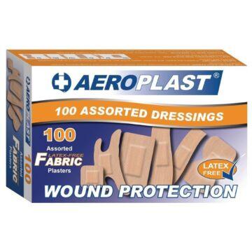 Latex-vrije pleisters assortiment Aeroplast, 100 stuks