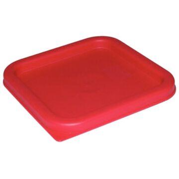 Deksel Vogue, rood, voor voedseldoos: CF020 en CF021