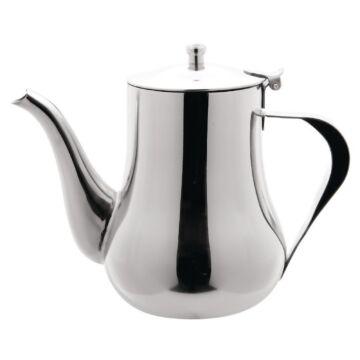 Arabische rvs koffiekan 1ltr