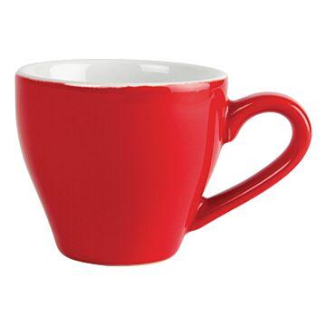 Olympia espresso kop rood 10cl (Box 12)