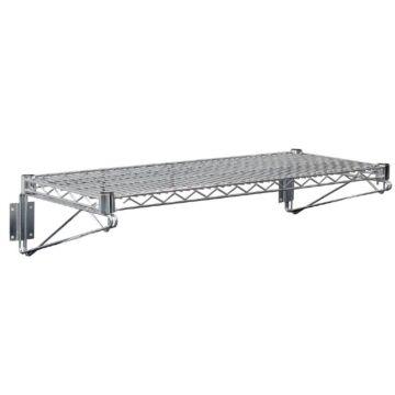 Vogue draad wandplank 61x36cm